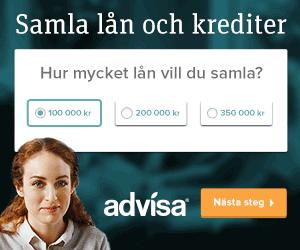 Samla lån via Advisa widget
